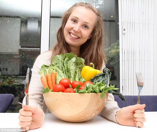 29-åring blir tatt for å være tenåring- spiser bare rå grønnsaker!