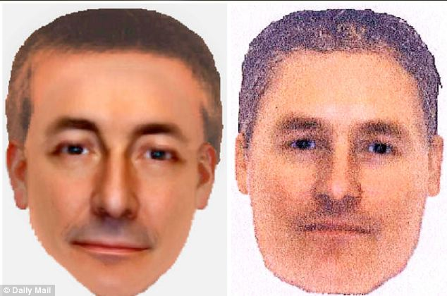 Suspect: The two e-fit images of the same man seen in Praia da Luz on the night Madeleine disappeared