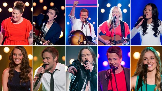 Dette er årets ti «Idol»-finalister