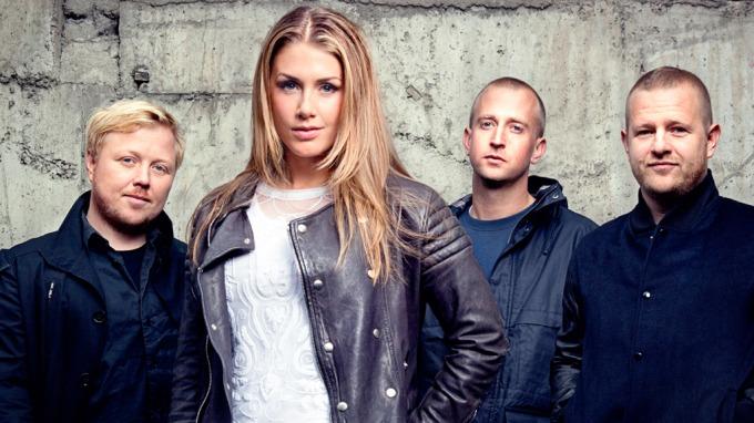SØKER SANGSPIRER: Disse fire skal jakte nye popstjerner i den kommende «Idol»-sesongen. Fra venstre: Kurt Nilsen, Tone Damli Aaberge, Gunnar Greve og Esben «Dansken» Selvig.