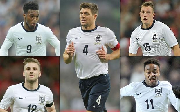 England World Cup squad: Roy Hodgson, Luke Shaw