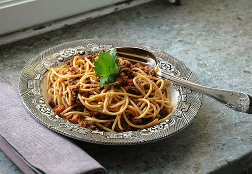 Spagetti Bolognese blir aldri det samme igjen!