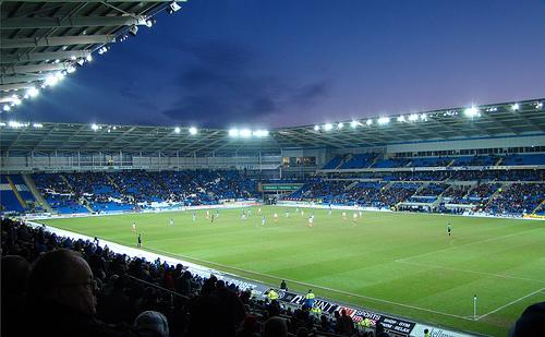 Cardiff City Stadium Pitch