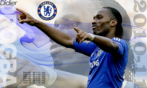 Didier Drogba - Chelsea FC 2010-11