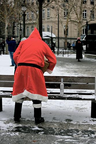 Ikke slå julenissen!