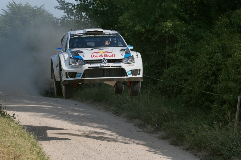 Sébastien Ogier (F), Julien Ingrassia (F) Volkswagen Polo R WRC (2014) WRC Rally Poland 2014