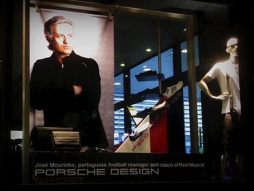 Mourinho - Porsche Design Sport Ad - Lisbon, Portugal